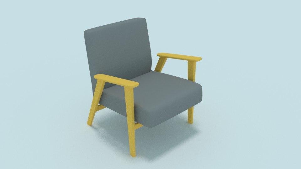 prl chair 3D