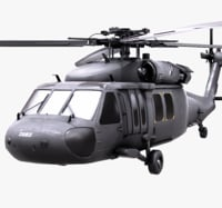 3D blackhawk uh60 uh