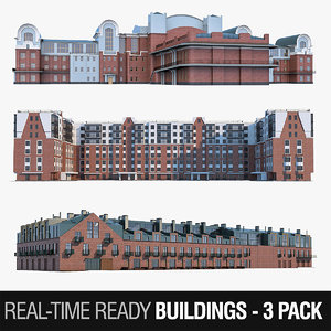 residential office buildings model