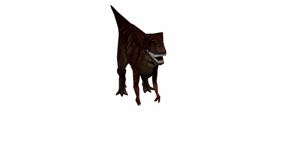 allosaurus dinosaur 3D
