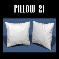 pillow interiors 3D model