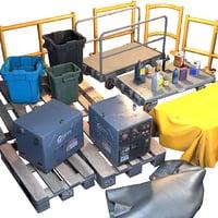 3D storage generic prop -