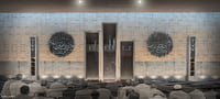 3D modern mosque interior model