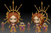 leona chibi 3D