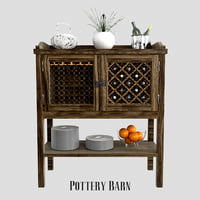 pottery barn georgia 3D model