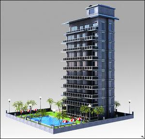 building apartments model