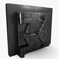 safe door 3D model