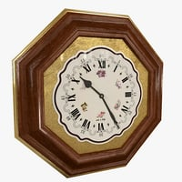 wall clock decor model