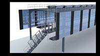 3D metal frame