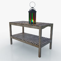 3D model light bench