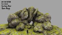 rock cave model