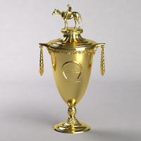 3D trophy fei model