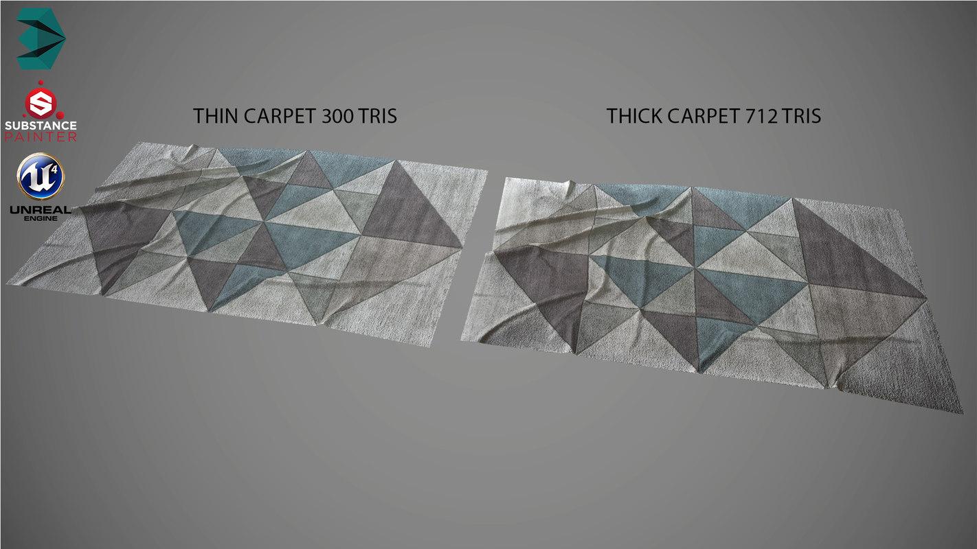 carpet interior 3D model