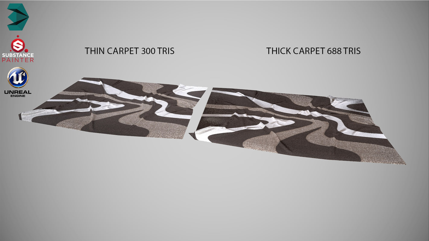 carpet interior model
