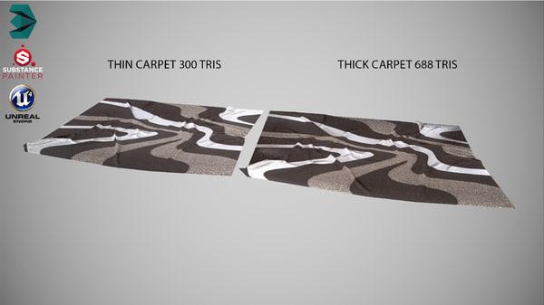 carpet interior model