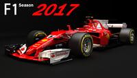 F1 Ferrari SF70H 2017