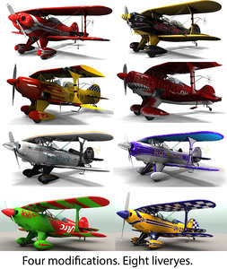 3D pitts special pack