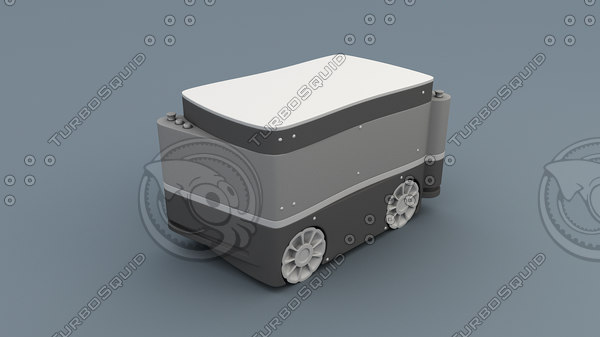 3D kuka cart robotic arm model