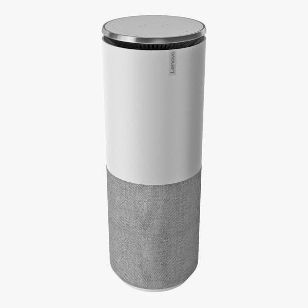 smart speaker lenovo assistant 3D model