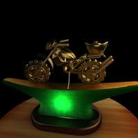 motorcycle craft 3D model