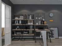 study room 3D