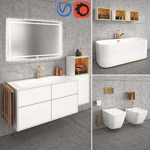 3D bathroom finion villeroy boch