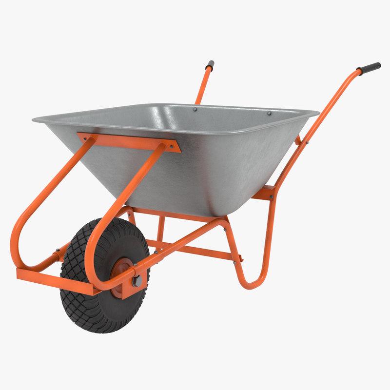 construction cart 3D model