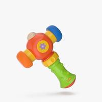 toy hammer 3D model