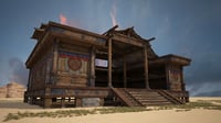 great nomad architecture 3D model