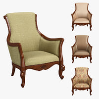 3D 230-1 carpenter casual chair