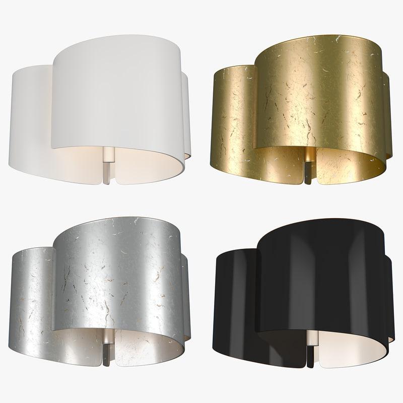 chandelier pittore lightstar 3D model