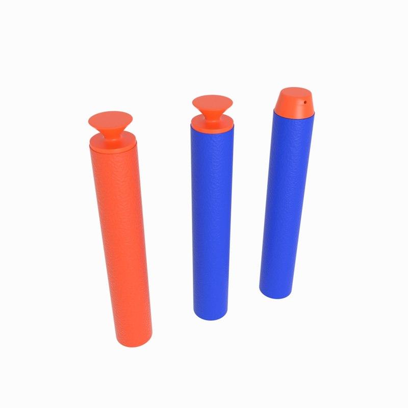 3D types bullets
