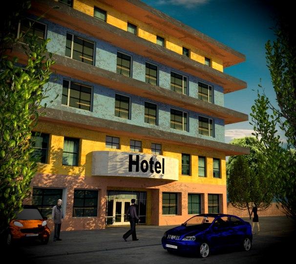 hotel games 3D