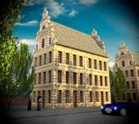 house city 3D model