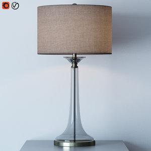 grandview table lamp 3D model