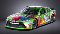 Nascar Toyota Camry M&Ms Kyle Busch 2017 VRAY