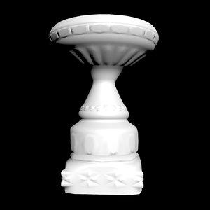 3D model pot garden