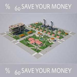 3D modelled highpoly model