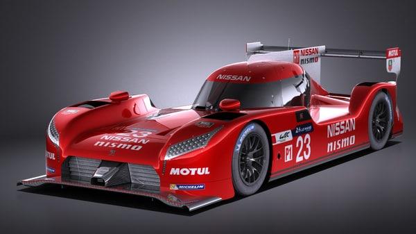 car 2016 race 3D model