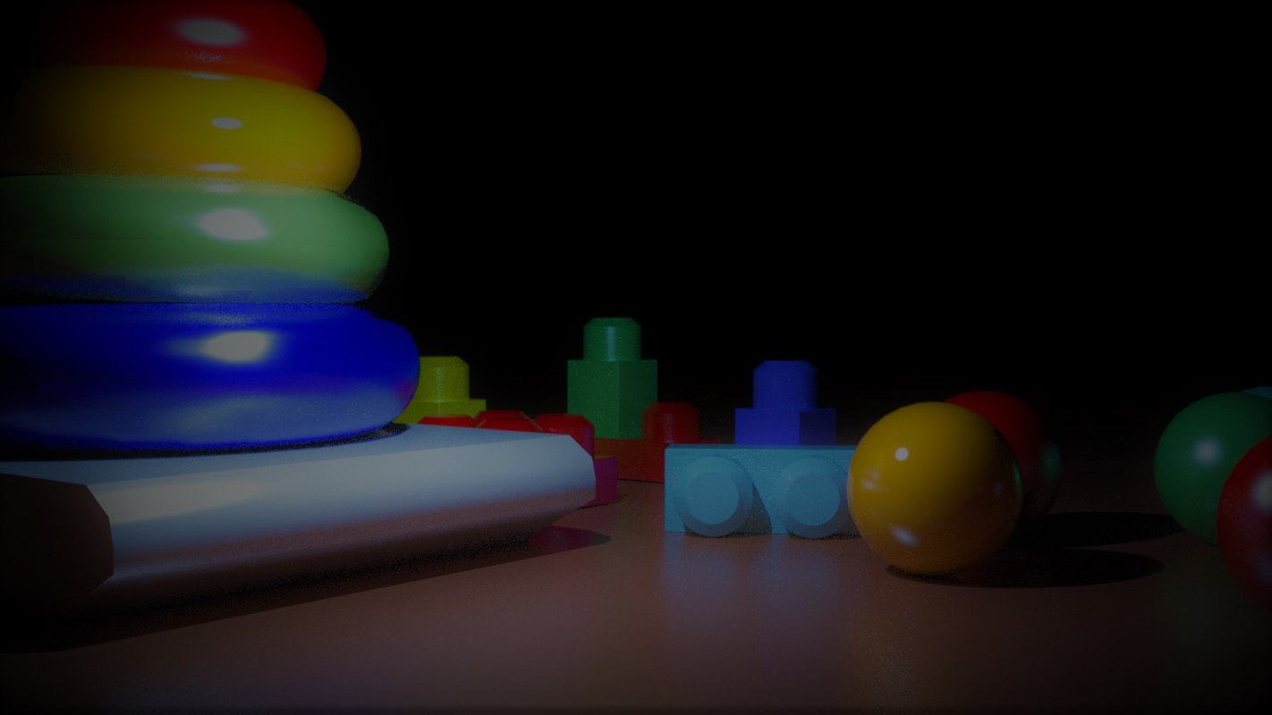 3D set toys model