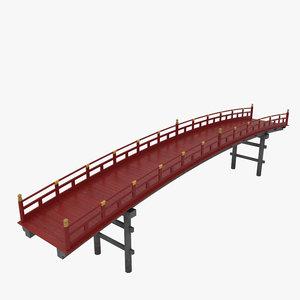 3D asian bridge