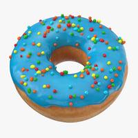 Donut 01 - Blue