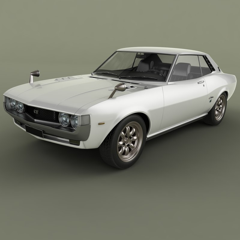 1975 toyota celica coupe 3D