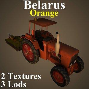 3D tractor ora model