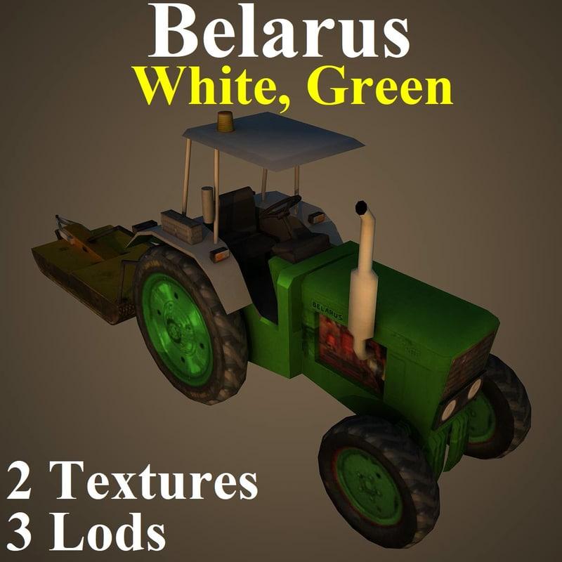 tractor wgr 3D model