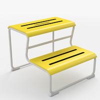 3D ikea glotten - step model