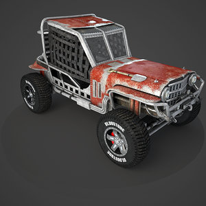 ready buggy 3D