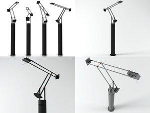 3D tizio floor lamp