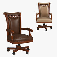 230-1 carpenter office chair 3D model