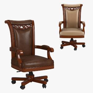 230-1 carpenter office chair 3D model
